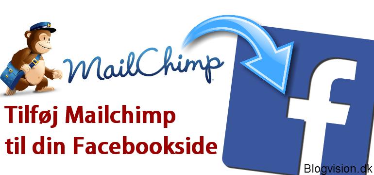 Tilføj dit nyhedsbrev til facebook