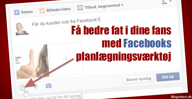 Sådan bruger du Facebooks planlægningsværktøj