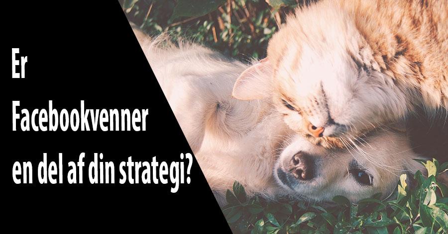 Er Facebookvenner en del af din strategi?